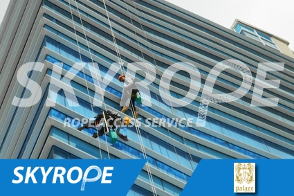 cleaning_rope access_Jave Palace Hotel_03