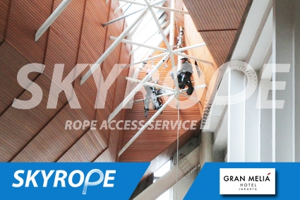 cleaning_rope access_gran melia_03