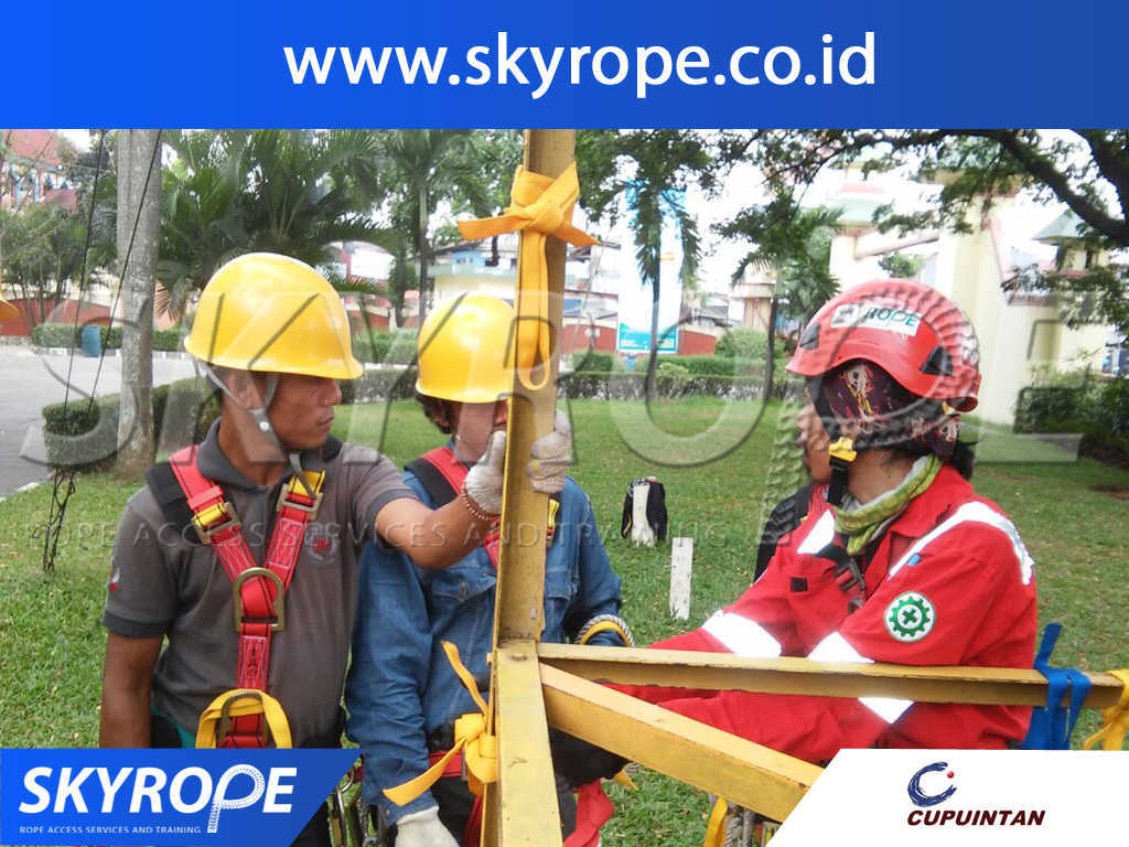Rope Access Training PT.CUPU INTAN ADYA PERMATA