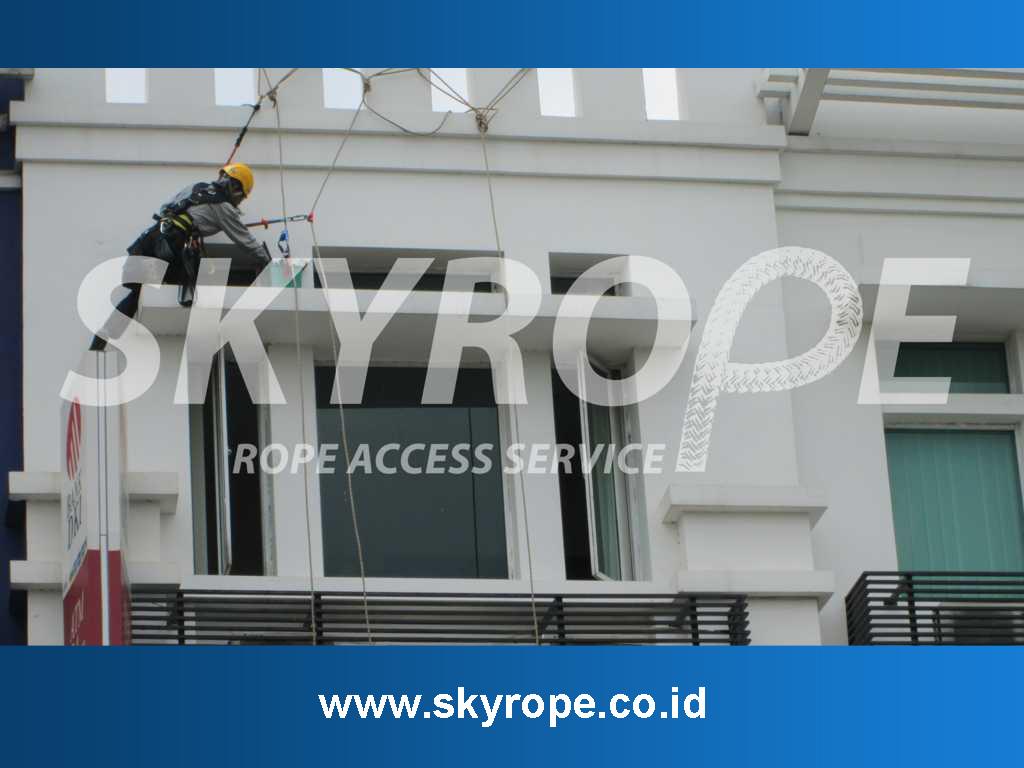 Pembersih Kaca Gedung Rangkasbitung Banten