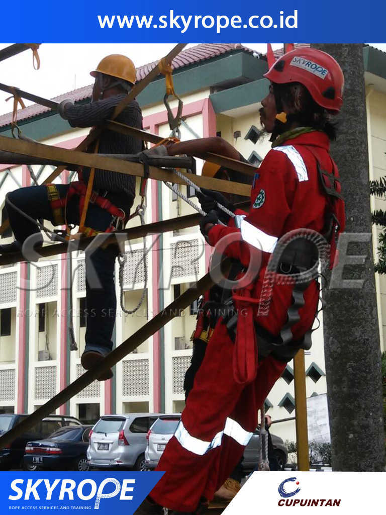 Rope Access Training Indonesia